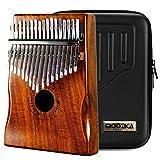 Moozica 17 teclas Kalimba, piano marimba de pulgar de madera de tono...