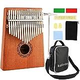Nabance Kalimba 17 Key Thumb Piano Marimba Instrumento Música Finger Piano...